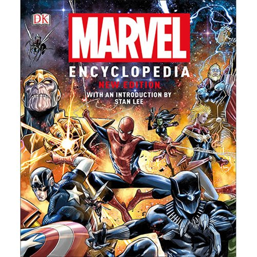 Marvel Encyclopedia New Edition Hardcover Book
