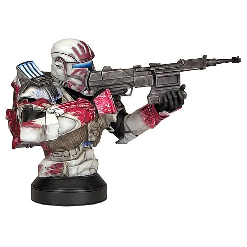 Star Wars Republic Commando Sev Mini Bust