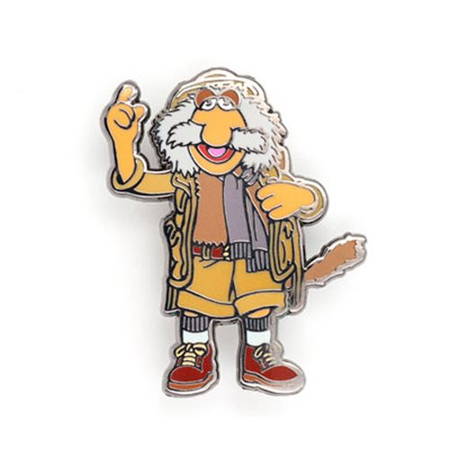 Fraggle Rock Uncle Travelling Matt Pin