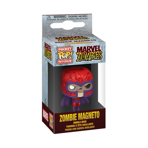 Marvel Zombies Magneto Pocket Pop! Key Chain