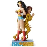 DC Comics Wonder Woman and Cheetah Statue by Jim Shore