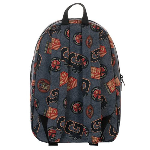 Harry Potter Gryffindor Print Backpack