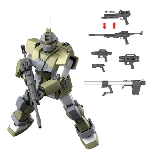 Mobile Suit Gundam MSV GM Sniper Custom 1:100 Scale Model Kit