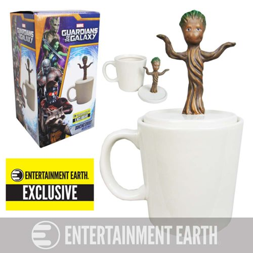 Groot Mug - Guardians of the Galaxy Baby Dancing Groot Figural Mug - Entertainment Earth Exclusive
