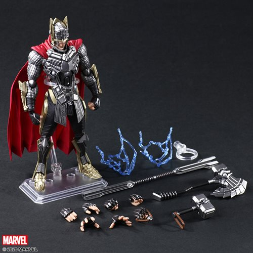 Marvel Universe Variant Thor Bring Arts Action Figure