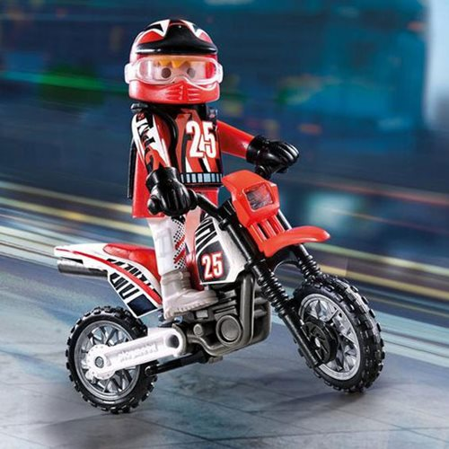Playmobil Special Plus 9357 Motocross Driver
