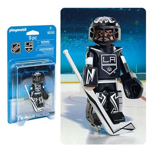 Playmobil 9030 NHL Los Angeles Kings Goalie Action Figure