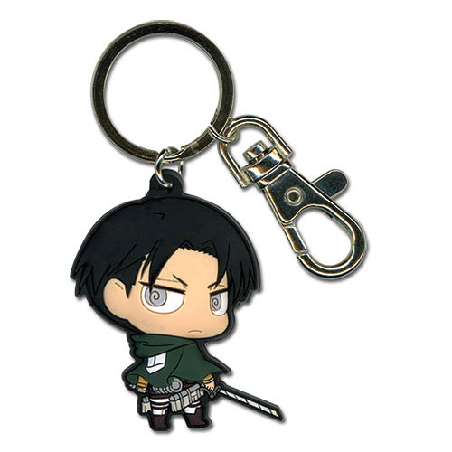Attack on Titan Levi Super Deformed Key Chain