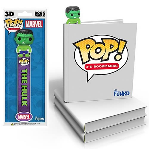 Incredible Hulk Mini-Pop! 3-D Bookmark