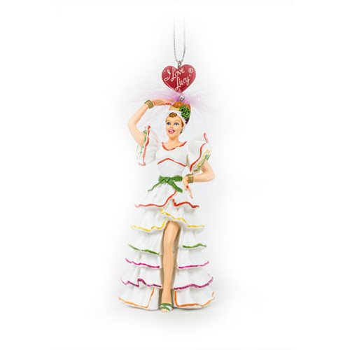 I Love Lucy Rumba 5-Inch Resin Ornament