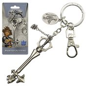 Kingdom Hearts Sleeping Lion Pewter Key Chain