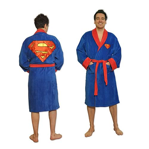 Superman Cotton Bathrobe