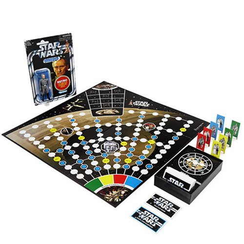 Star Wars Escape From Death Star Board Game with Exclusive Retro Collection 3 4/4-Inch Grand Moff Tarkin Action Figure