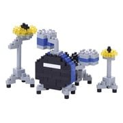 Blue Drum Set Nanoblock Constructible Figure