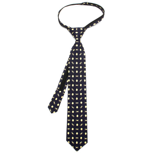 Star Wars Battle Ships Boys Zipper Silk Tie