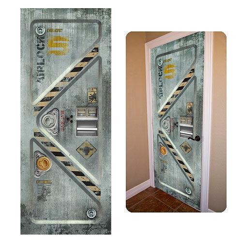 Space Airlock DoorJamz Vinyl Door Wall Sticker  sc 1 st  Entertainment Earth & Space Airlock DoorJamz Vinyl Door Wall Sticker - Entertainment Earth