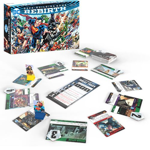 DC Rebirth Deck Building Game