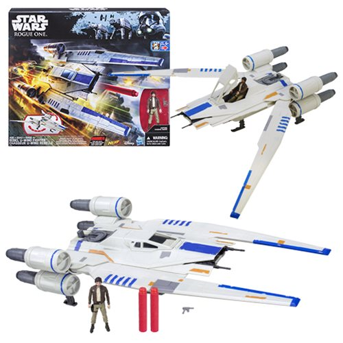Star Wars Rogue One Rebel U-Wing Fighter Vehicle, Not Mint