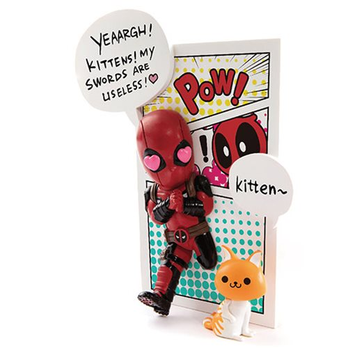 Marvel Comics Deadpool Jump Out 4th Wall MEA-004 Mini Egg Attack Vinyl Figure - Previews Exclusive