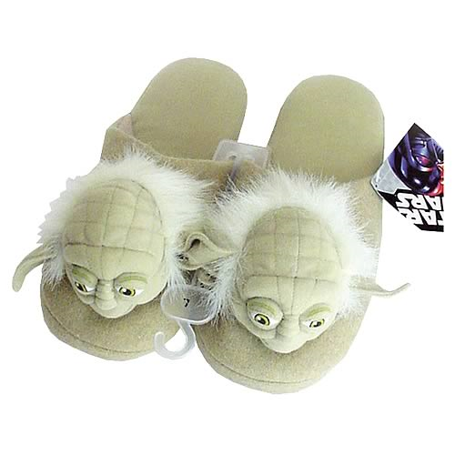 Star Wars Yoda Slippers