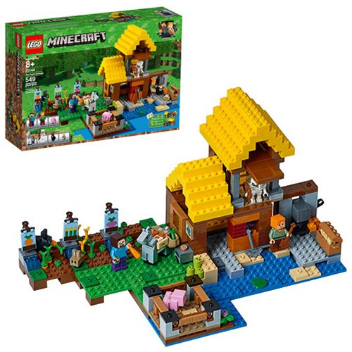 LEGO Minecraft Creative Adventures 21144 The Farm Cottage