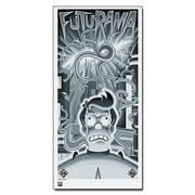 Futurama Beast with a Billion Backs Fry Lithograph