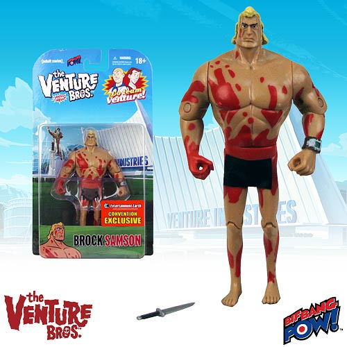 The Venture Bros. Naked Brock Samson 3 3/4-Inch Action Figure - Convention Exclusive