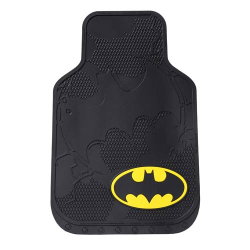 Batman Shattered Rubber Floor Mat 2-Pack