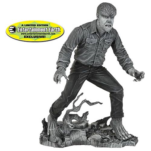 Universal Monsters Black and White Wolfman Figure Exclusive