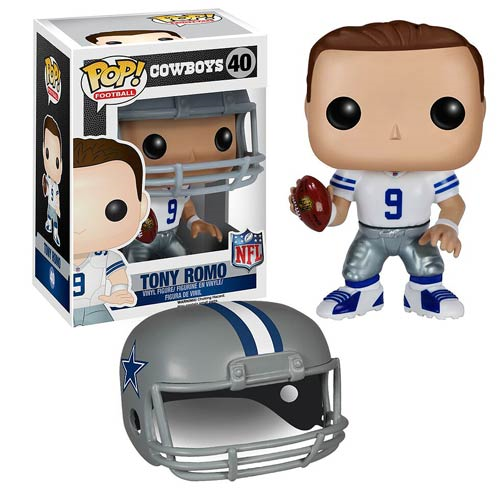 NFL Tony Romo Wave 2 Pop! Vinyl Figure, Not Mint