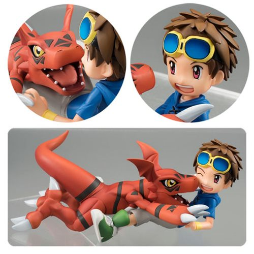 Digimon Tamers Matsuda Takato and Guilmon GEM Series Statue