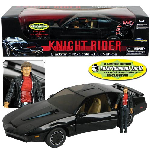 EE Exclusive Knight Rider KITT Vehicle with Michael Knight