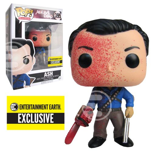 Ash vs Evil Dead Ash Bloody Version Pop! Vinyl Figure - Entertainment Earth Exclusive