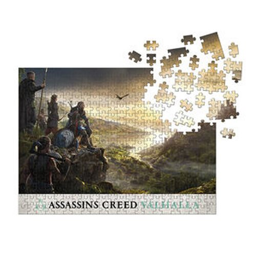 Assassin's Creed Valhalla: Raid Planning 1000-Piece Puzzle