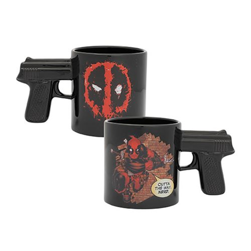 Deadpool Outta the Way Nerd 20 oz. Sculpted Ceramic Mug