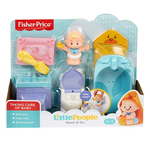 Little People Babies Wash & Go