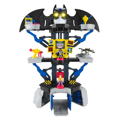 DC Super Friends Imaginext Transforming Batcave Playset