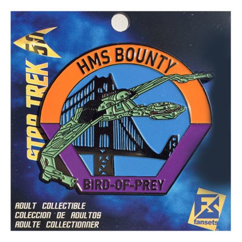 Star Trek HMS Bounty Bird of Prey Pin