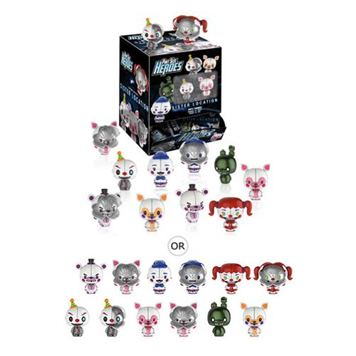 FNAF Sister Location Pint Size Heroes Random 6-Pack
