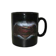 Batman v Superman: Dawn of Justice Emblem 14 oz. Ceramic Mug, Not Mint