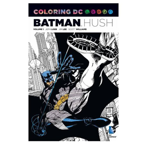 Batman: Hush Coloring Book