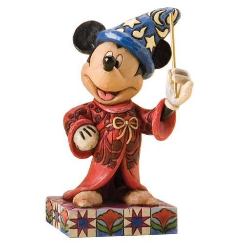 Disney Traditions Sorcerer Mickey Mouse Statue