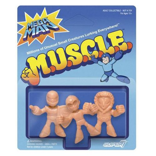 Mega Man M.U.S.C.L.E. Pack A Mega Man, Ice Man, Sniper Joe Mini-Figures