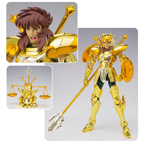 Saint Seiya Libra Dohko Saint Cloth Myth Ex Die Cast Action Figure