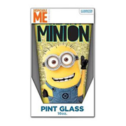 Despicable Me One in a Minion Yellow 16 oz. Pint Glass