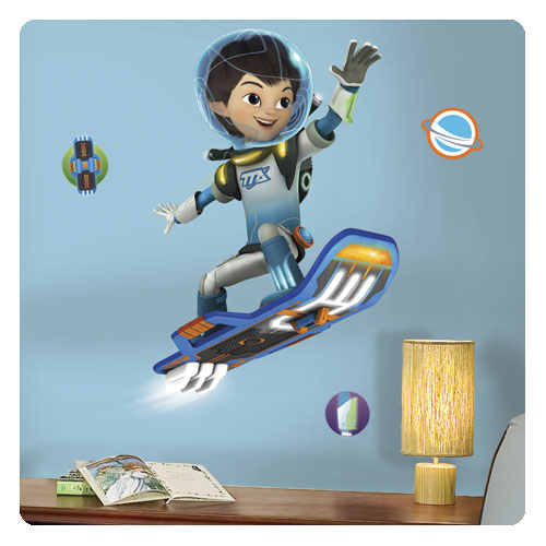 Miles From Tomorrowland Miles Flying Peel and Stick Giant Wall Decals