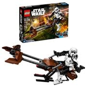 LEGO Star Wars 75532 Constraction Scout Trooper and Speeder Bike