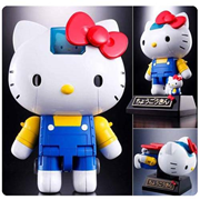 Hello Kitty Chogokin Die-Cast Metal Action Figure