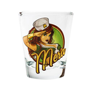DC Bombshells Mera Shot Glass