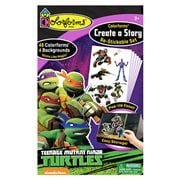 Colorforms Create-A-Story Teenage Mutant Ninja Turtles Set